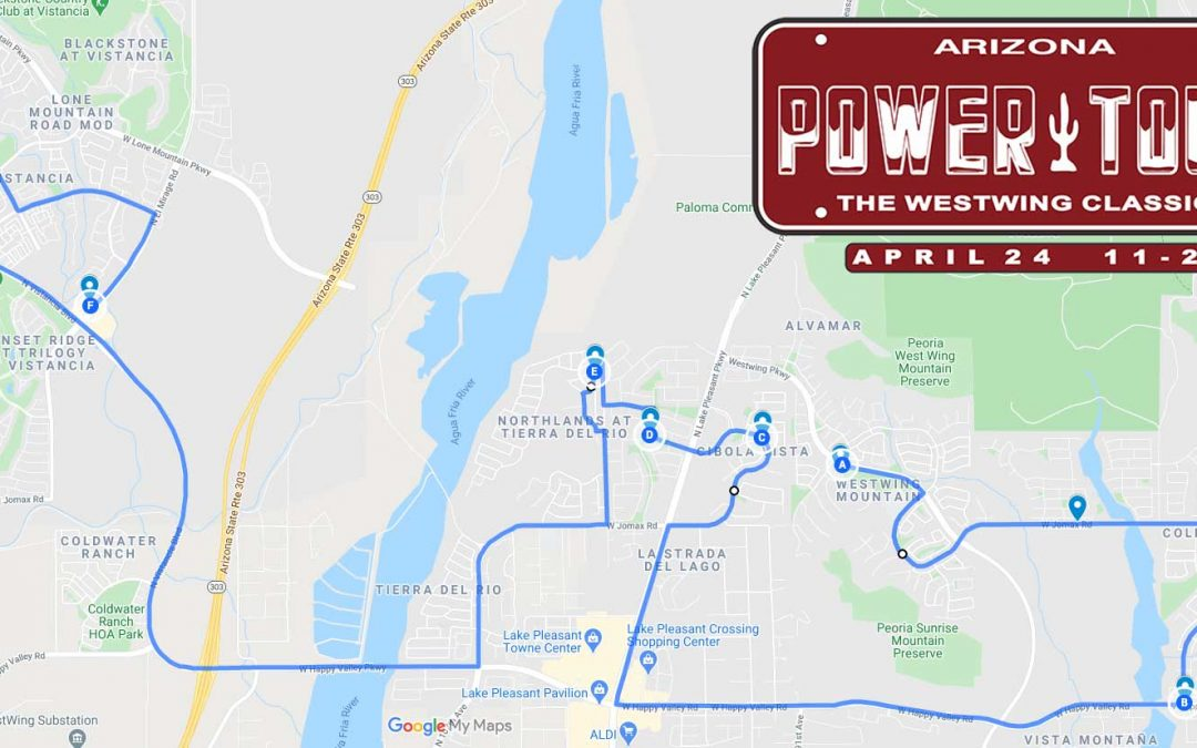 The WestWing Classic Power Tour is TOMORROW!!