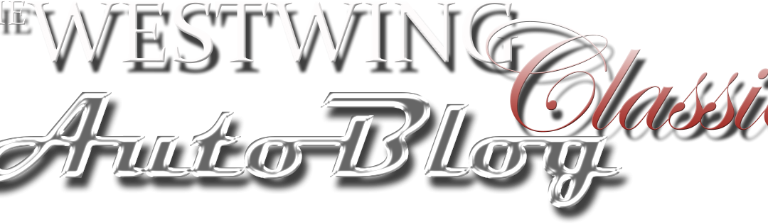 Introducing The WestWing Classic Auto Blog!